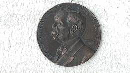 Medal Medalla Medaille Medaglia Carlos Pellegrini Monument 1913 Argentina #4 - Royaux/De Noblesse