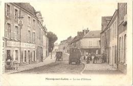 Dépt 45 - MEUNG-SUR-LOIRE - La Rue D'Orléans - (Éditeur : Librairie Vve Gonelle - B. F.) - HÔTEL Et CAFÉ Du GRAND TURC - Sonstige Gemeinden
