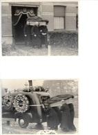 W37/   BEGRAFENIS   WOMMELGEM    4 X FOTO 13/17 CM - Photos