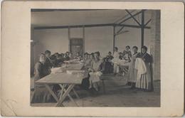 HOLZMINDEN - CARTE PHOTO - Camp D'Internement - Salle De Couture De Femmes - Holzminden