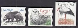 Sweden 1997 / Animals In The Nordic Ark 1 / MNH / Mi 1984-1986 - Suède