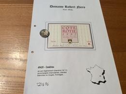Etiquette De Vin 1997 «CÔTE-RÔTIE - Robert Niero - Condrieu (69)» - Côtes Du Rhône