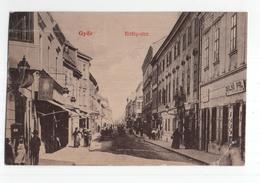 Hongarije Hungaria - Gyor - Kiraly Utea - Belso Pal - 1909 - Hongrie