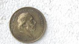 Medal Medalla Medaille Medaglia  Argentina  Bartolome Mitre 1921 Yrurtia #4 - Royaux/De Noblesse