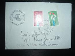 LETTRE TP CNE 1,60 + 1,40 OBL.21 X 1981 59 LILLE PHILATELIE AGENCE REGIONALE D'INFORMATION DES POSTES - Marcophilie (Lettres)