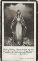 DP. URBANIA BAEKELANDT ° STEENE 1906 - +THULIN (HENEGOUWEN) 1923 - Religion & Esotérisme
