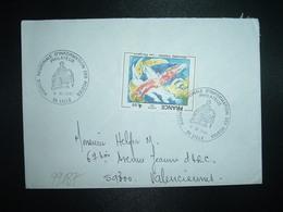 LETTRE TP EDOUARD PIGNON 4,00 OBL.9 XI 1981 59 LILLE PHILATELIE AGENCE REGIONALE D'INFORMATION DES POSTES - Marcophilie (Lettres)