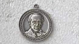Medal Medalla Medaille Medaglia  Argentina Alberdi 1884  Silver #4 - Royaux/De Noblesse