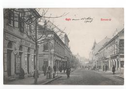 Hongarije Hungaria - Gyor - Baross Ut  - 1908 - Hongrie
