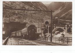 Zwitserland Schweiz Suisse - Goschenen - Elektrischer Zug Gotthardbahn - 1922 - Ohne Zuordnung