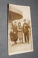 Ancienne Photo Originale,Courcelles,Policier ,pour Collection - Personnes Identifiées