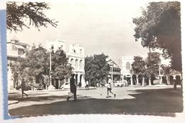 Cpsm Petit Format Djibouti Place Menelick - TOS07 - Somalie