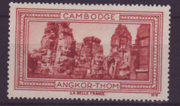 Vignette ** Indochine Cambodge Angkor Thom - Unused Stamps