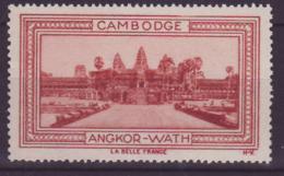 Vignette ** Indochine Cambodge Angkor Wath - Unused Stamps