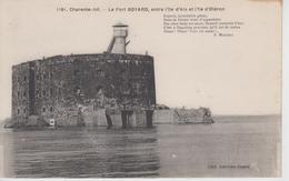CPA Le Fort Boyard Entre L'île D'Aix Et L'île D'Oléron (avec Poème De F. Mousset) - France