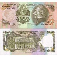 Billet Uruguay 100 Pesos - Uruguay