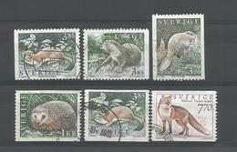 Sweden 1996 Fauna Y.T. 1905/1909  (0) - Gebruikt