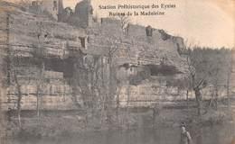 24 - Les Eyzies - Station Préhistorique - Ruines De La Madeleine - France