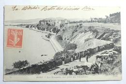 Cpa Bone Les Remparts Vue Prise Des Caroubiers 1919 - TOS07 - Algérie