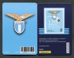 ITALIA 2020 - TESSERA FILATELICA - 120° ANNIVERSARIO FONDAZIONE S.S.LAZIO S.p.a. - MNH**- 429 - 6. 1946-.. Republic