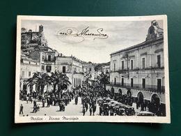 MODICA (RAGUSA)  PIAZZA MUNICIPIO  1955 - Modica