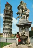 Pisa - Torre Pendente -  Viaggiata 1988 - Pisa