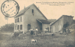 J80 - 38 - CHAMROUSSE - Isère - Maison Forestière Du Marais - Refuge 1134 Art. - Chalet De Recoin - Roche Béranger - Francia