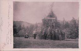 Val-de-Ruz Malvilliers NE, Souvenir Du 1er Août 1925 (3002) - NE Neuchâtel