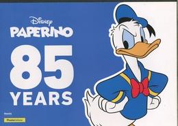 ITALIA 2020 - FOLDER 85 ANNI PAPERINO DISNEY - CONTIENE 08 TESSERE EMISSIONE MINI FOGLIO 2019 - 6. 1946-.. Republic
