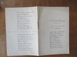 L'ECU DE FRANCE J'AIME DIJON.............. ET LE PUITS D'AMOUR    8 PAGES - Partitions Musicales Anciennes