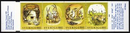 Sweden 1999 / Rabbits / MNH / Mi 2089-2092, Booklet MH 249 - Suède