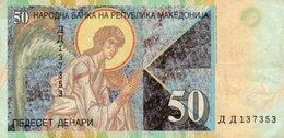 MACEDONIA 50 DENARI 2007 P-15e  Circ - Macedonië
