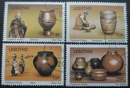 LESOTHO Série N°401 Au 404 Oblitéré - Lesotho (1966-...)