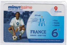 Top Collection - 9TELECOM - Didier Drogba - Olympique De Marseille - 6 € - Voir Scans - France