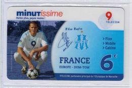 Top Collection - 9TELECOM - D. Van Buyten - Olympique De Marseille - 6 € - Voir Scans - France