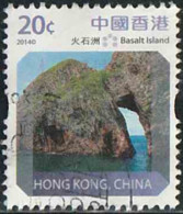 Hong-Kong 2014 Yv. N°1735 - 20c Ile De Basalt - Oblitéré - Used Stamps