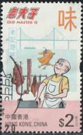 """Hong-Kong 2019 Yv. N°2115 - Bande-dessinée """"Old Master Q"""" - Cuisinier - Oblitéré - Used Stamps"""