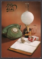 96370/ FETE DES PERES, Années Vintage, Cigarettes, Téléphone, Montre, Briquet, Lampe à Huile - Autres