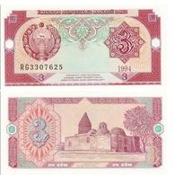Billet OUZBÉKISTAN 3 SOM - Ouzbékistan
