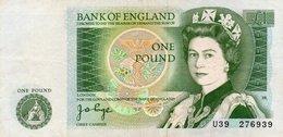 GREAT BRITAIN 1 POUND 1978 P-377a XF++ - 1 Pound