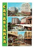 Maroc: Casablanca, Multi Vues (20-435) - Casablanca