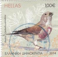 Grèce 2702 O 2014 Carduelis - Passereaux