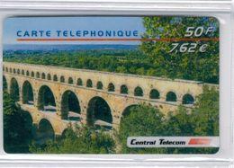 Top Collection - CENTRAL TELECOM - Pont Du Gard - 50 F/ 7,62 € - Voir Scans - Francia