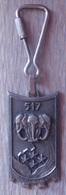 Porte Clefs 517e Régiment Du Train - Châteauroux - Armée De Terre