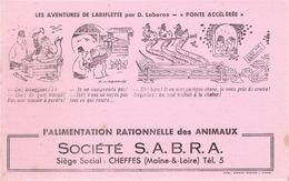 FRANCE - Buvard - Agriculture - Elevage - L' Alimentation Rationnelle Des Animaux - Société S.A.B.R.A - Agriculture