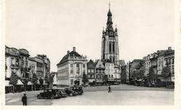 Kortrijk, Grote Markt En St-Maartenskerk - Kortrijk