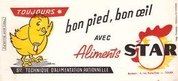 FRANCE - Buvard - Agriculture - Elevage - Bon Pied , Bon œil Avec Les Aliments STAR - Agriculture