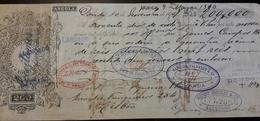 PORTUGAL - Bill Of Exchange / Letra De Câmbio - 200 Reis - 1906 - ANGOLA - HENRY BURNAY & Cie. - Wechsel