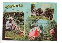 PAKISTAN . SNAKE CHARMER AND AIR TROLLEY, AYUBIA - Réf. N°25138 - - Pakistan