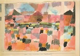Carte Postale UNICEF.  Peinture De Paul Klee. St Germain En Tunisie. Vœux De Bonne Année 2014. - Paintings
